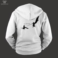 Final Fantasy FF7 Cloud Sephiroth men unisex zip up hoodie heavy hooded sweatshirt fleece inside organic cotton Free Shipping