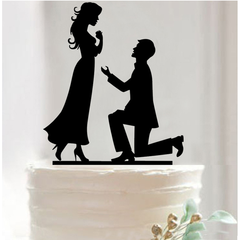 Aliexpresscom Buy Classy Romantic Wedding Cake Topper Marriage