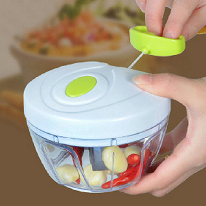 Multi-Functional Kitchen Gadgets Meat Vegetable Stuffing Mixer Cutter Bowl Fruit