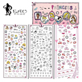 Beautome 1X Princess Mickey Minnie Nail Stickers Decals Cartoon Water Transfer Nail Art Tips Decorations Gel Nail Stickers