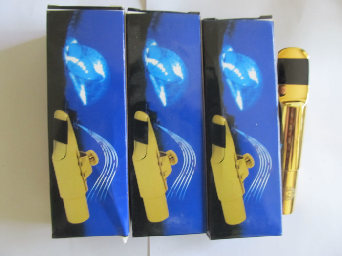 Nouveau embout en métal de qualité en gros modèle B # pour Saxophone Saxofon ténor nouveau 7