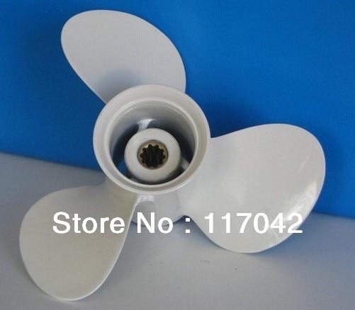 Контролировать 663-45952-02-Эль-Алюминиевый пропеллер Размер 11 3/8х12 для YAMAHA мощностью 40 л. с. 50 л. с. лодочный мотор мотор 11 - 3/8 х 12