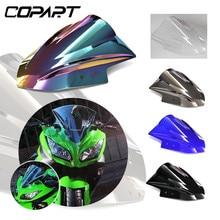 Для ниндзя 300 EX300 EX300R EX 300R дефлектор мотоциклетное ветровое стекло пузырь двойной лобового стекла автомобиля 2013