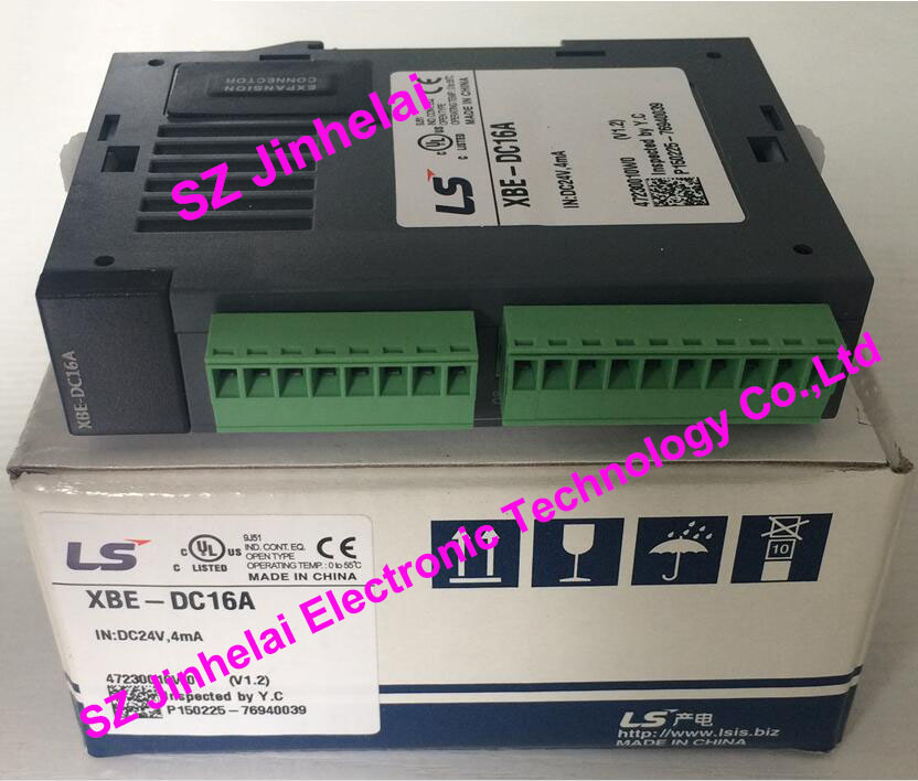 100% New and original  XBE-DC16A  LS(LG)  PLC   16 point DC24V input