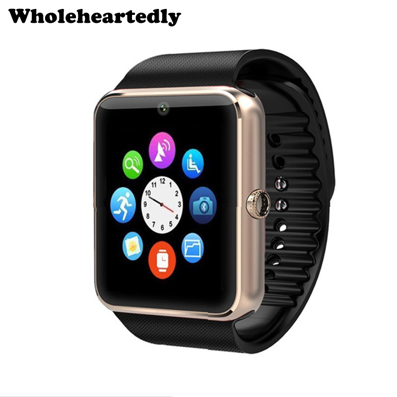 Beförderung !! Smart Watch GT08 SmartWatch Clock Sync Notifier mit SIM-Kartensteckplatz Bluetooth für IOS Android Telefon