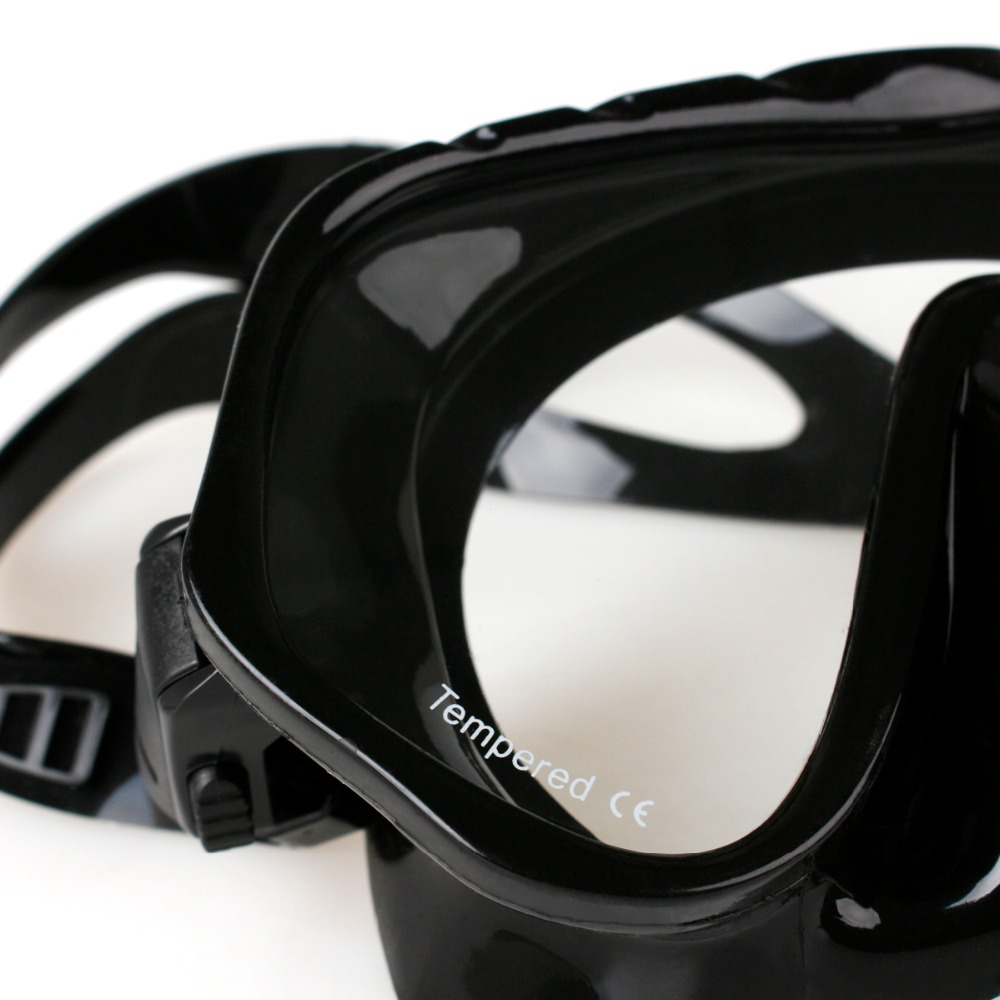 Copozz Brand Professional Skuba Diving Mask Glasögon Wide Vision - Vattensporter - Foto 6
