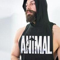 DLIXZI marke männer sleeveless turnhallen hoodie weste bodybuilding bekleidung muskel hemd männlich fitness workout tank top