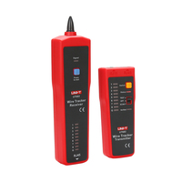 UNI T UT682 Network Wire Tester Tracker RJ11 RJ45 Wire Line Finder Line tester Handhold Cable Testing Tool for Network Maintenan