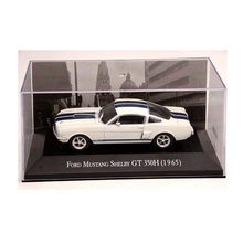 IXO Altaya 1:43 Scale Ford Mustang Shelby GT 350H 1965 Cars Diecast Toys Models Limited Edition Collection White(China)