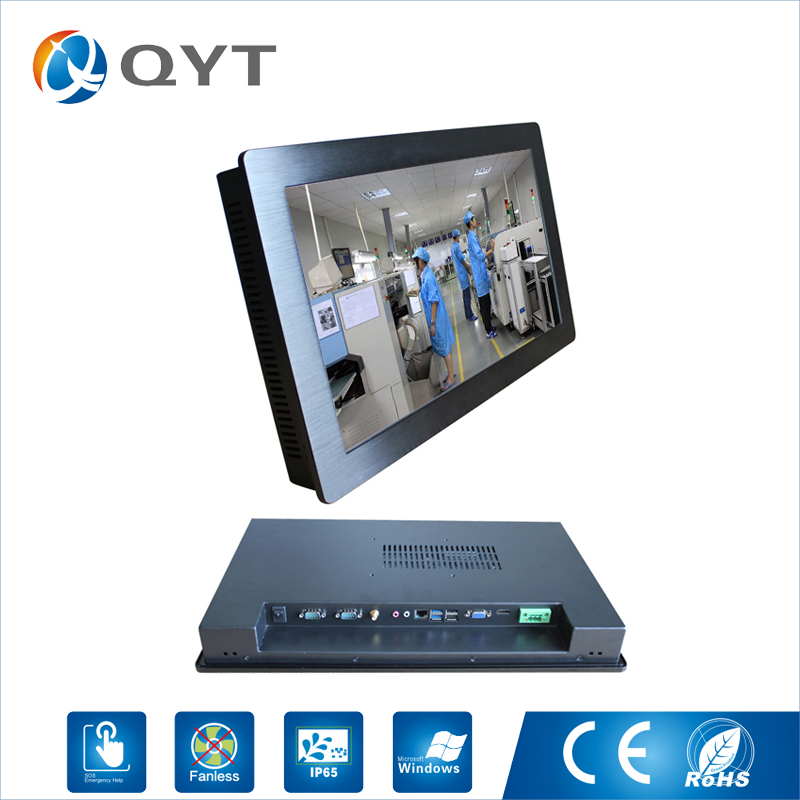 21.5'' all-in-one pc With intel dual core i3 3217U touch screen 4usb/2rs232 industrial embedded panel pc resolution 1920x1280 цена 2017