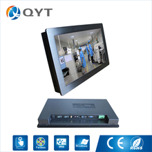 21.5» all-in-one pc With intel dual core i3 touch screen 4usb/2rs232 industrial embedded panel pc resolution 1920×1280