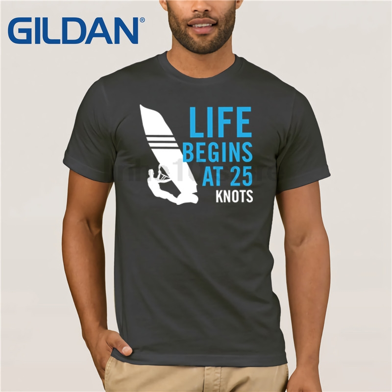 GILDAN Men's Graphic design WIndsurf, WIndsurfing   T     Shirt   Hot men's   T  -  shirt
