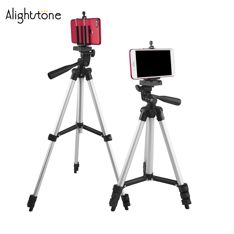 Alightstone Professional 1020mm Adjustable Tripod Stand For Camera/Phone Camera Tripods Mount Bracket Phone Holder Stands