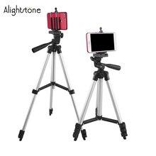 Alightstone Professional 1020mm Adjustable Tripod Stand For Camera/Phone Camera Tripods Mount Bracket Phone Holder Stands стоимость