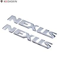 KODASKIN emblematy naklejki 3D odblaskowe logo dla włoch Gilera motocykl NEXUS 250 300 500 w Naklejki samochodowe od Samochody i motocykle na