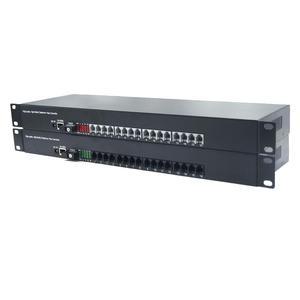 Image 3 - Премиум 16 каналов PCM голосовой Телефон по волоконно оптическим медиа конвертерам с 10/100 Мбит/с Ethernet FC одномодовым волокном 20 км