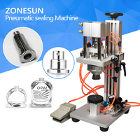 Semi Automatic Capper Small Bottle Capping Machine For Perfume