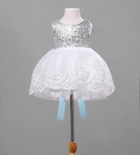 14ef4cd2ca Dziewczyny księżniczka Big bowknot dziewczyna sukienki junior pageant  ślubne białe dziewczyny maluch dziecko sukienka siatki cek.