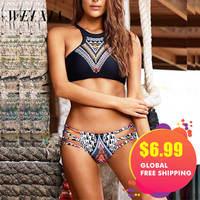 Christmas Gift WEIXIA Good Brand Bathing Suit Sexy Low Waist Beach Swimwear Comfortable Bikini