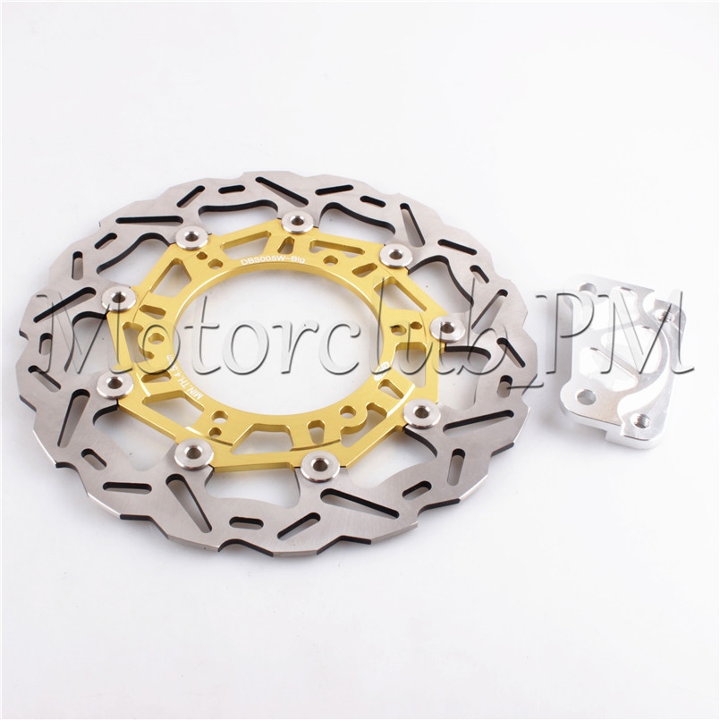 4 Colors Front Brake Disc Rotor For YAMAHA YP MAJESTY DX ABS 250 1999-2005 2000 2001 2002 2003 2004 Motorcycle Bicycle Pads motorcycle part front rear brake disc rotor for yamaha yzf r6 2003 2004 2005 yzfr6 03 04 05 black color