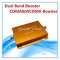 2014 Новая Модель Золото CDMA/3 Г (CDMA/WCDMA) 850 МГц/2100 МГц Dual Band мобильный Сигнал Повторителя сотовый Телефон Усилитель