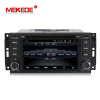 Wholesale! android 8.1 car radio audio gps dvd player for JEEP Wrangler Compass Patriot Grand Cherokee Commander Dodge