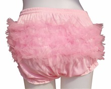 Adult Baby Ruffle Panties Bloomers incontinence Diaper Cover  /  FMP03-5&5,0 / L / 0