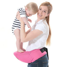 Baby Carrier Pure Cotton Bebe Waist Stool Walkers Baby Sling Hold Waist Belt Backpack Hipseat 22*16 cm Infant Hip Seat(China)