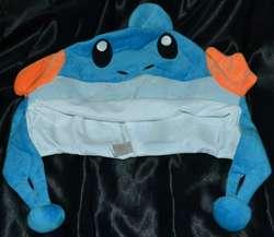 Детский Косплэй шляпа мультфильма вечерние Mudkip Hat Beenie Шапочка костюм плюшевые мягкие подходит для подростков и взрослых Новый