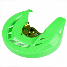 Motorcycle Front Brake Disc Cover Guard Protector For KX 125 250 KX125 KX250 2006-2008 KX250F KX450F 2006-2015 KLX450 08-15 outer diameter 250mm stainless steel front brake disc rotor for kawasaki kx125 kx250 06 08 kx250f kx450f 06 15 klx450r 07 14