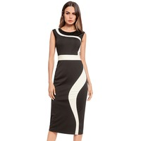 Best selling ladies dress 2018 professional female slim body slim beautiful apricot dress summer