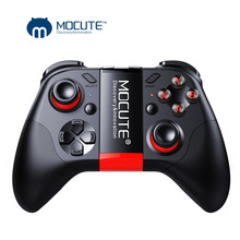 MOCUTE 054 Wireless Gamepad Bluetooth Gmae Controller Joystick For Android/iSO Phones Mini Gamepad For Tablet PC VR box Glasses wireless controller mini ring rechargeable wireless vr remote game bluetooth 4 0 joystick gamepad for android 3d glasses