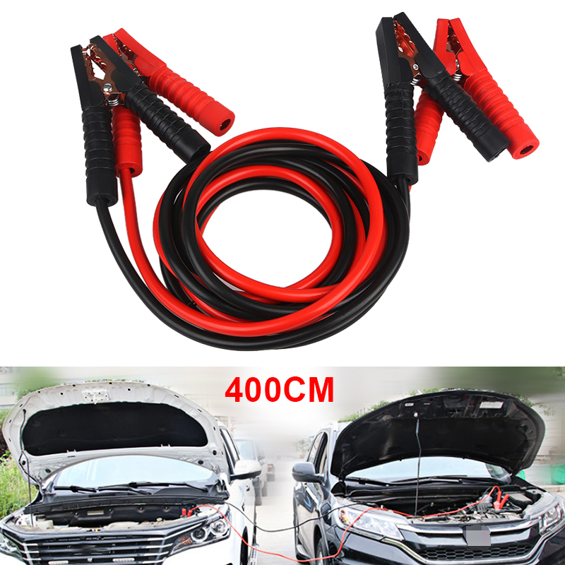 Car Battery Jump Cable 800A 3M 1000A 4M Emergency Car Battery Jumper Booster Line Copper Wire
