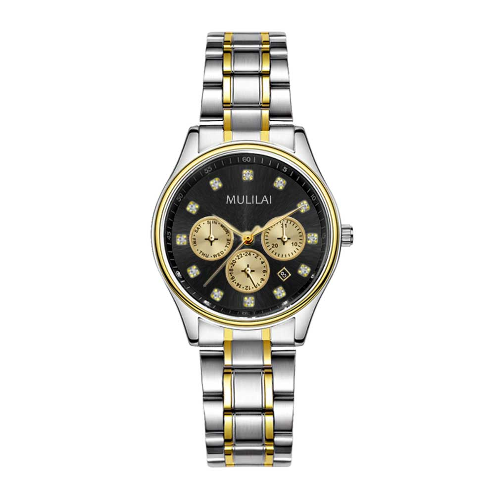 Automatic calendar Watch Women Quartz Watches Rhinestone Ladies Top Brand Luxury Female Wrist Watch Girl Clock Relogio Feminino nakzen quartz women watches top brand fashion ladies bracelet watch rhinestone crystal wrist watch female hers relogio feminino