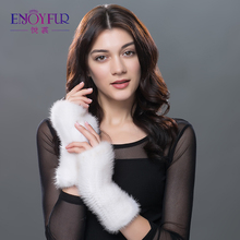 Winter mink fur gloves for women high quality 2017  top selling fashion  Gloves & Mittens multi length warm lovely female gift