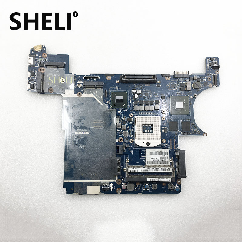 SHELI FOR DELL QAL81 LA-7782P Laptop Motherboard E6430 2V2HC 02V2HC CN-02V2HC 100% Tested Good Working