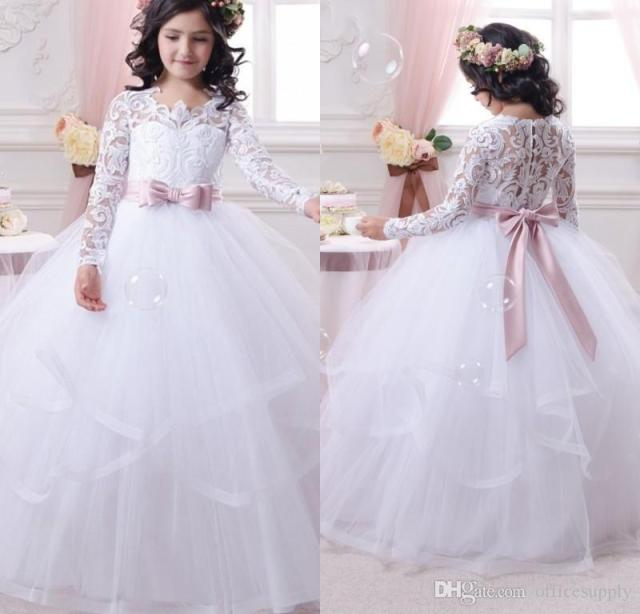 vestidos de primera comunion para ninas 2014