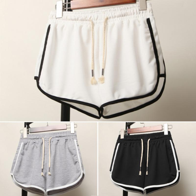 Summer Woman Sports   Shorts   Fashion Korean Loose   Short   Pants High Waist Casual Wide Leg   Short   Pants Plus Size S-XXXL Pant 2018