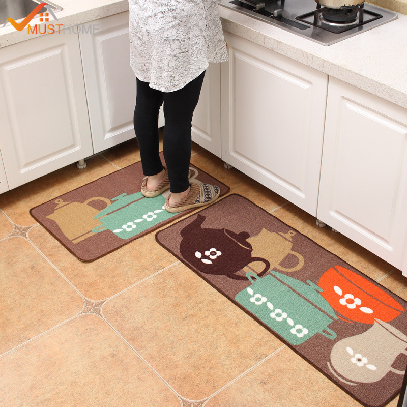 50 120cm Area Rug Kitchen High Quality Non Slip Waterproof Kitchen Rugs And Carpets Free