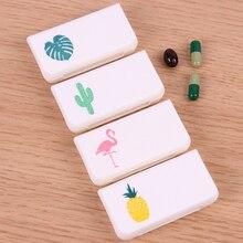 Портативный мини-кейс для таблеток, медицинские коробки, 3 сетки, для путешествий, дома, медицинские таблетки, пустой контейнер, домашний держатель, чехлы