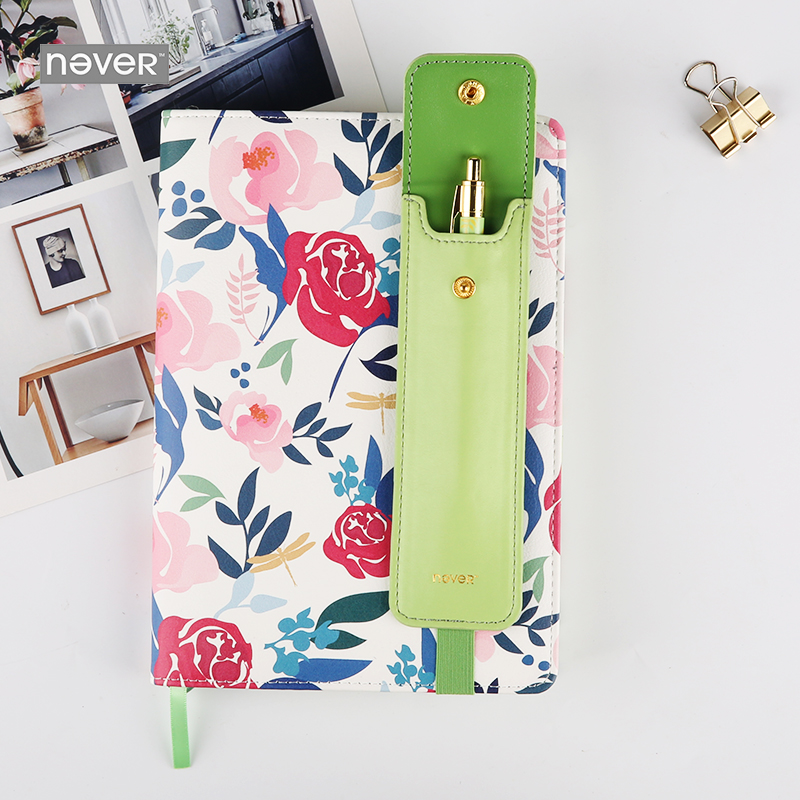 Never Korean Cute A5 Pu Leather Cover Notebook Planner Pencil Metal Pen Stationery Set Office & School Accessories SuppliesNever Korean Cute A5 Pu Leather Cover Notebook Planner Pencil Metal Pen Stationery Set Office & School Accessories Supplies