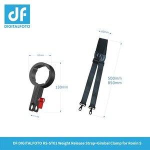Image 3 - RS ST01 Appendere fibbia a mano cinghia di spalla Imbracatura della cinghia Fibbia a sgancio per DJI RONIN S 3 Assi del Giunto Cardanico/stabilizzatore accessori