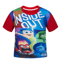High Quality Summer 2017 Cotton% Boys inside out T Shirt Bape Kids Cartoon T Shirts Clothes Chidren Boy T-Shirts Trolls Clothing