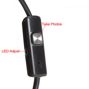 Image 5 - 7mm Inspektion Rohr 1 mt 2 mt Endoskop Wasserdichte Mini USB Kamera Schlange Rohr mit 6 LED Endoskop Für android Telefon PC Dropshipping