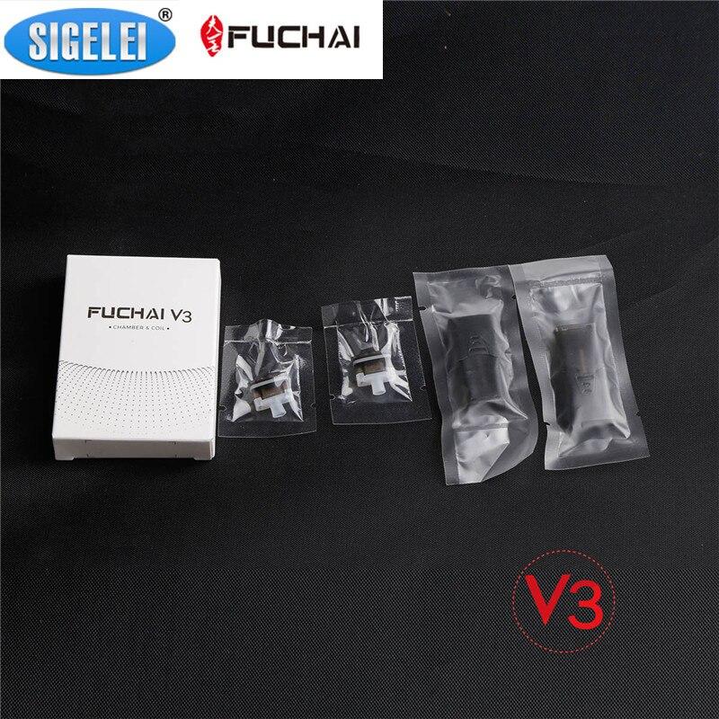 Sigelei Fuchai V3 Cartouches Réservoir 1.5 ml Capacité 2.1ohm Bobine Tête Gousses Atomizars Fit Fuchai V3 Starter Kits