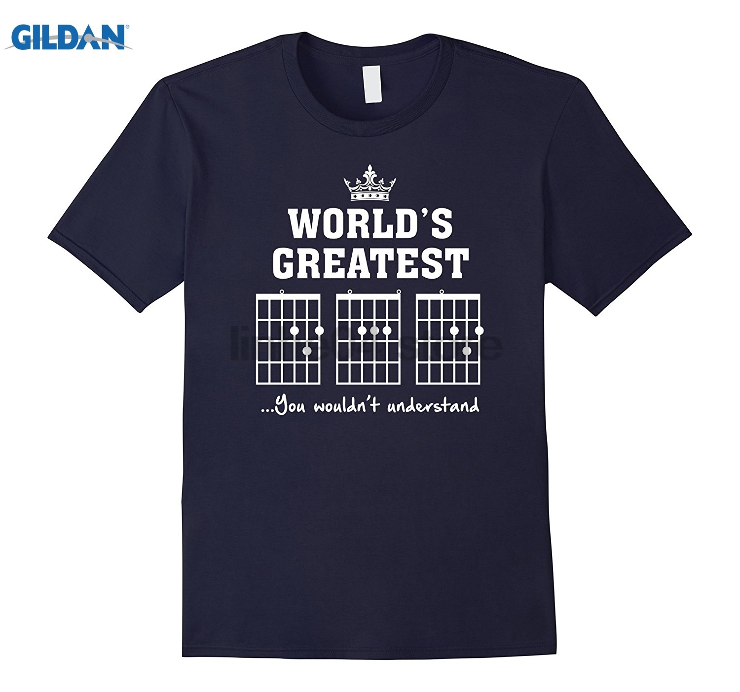 GILDAN F chord DAD funny guitar T shirt - Unique Fathers Day Gift Hot Womens T-shirt ...