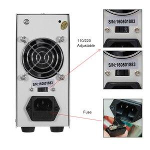 Image 5 - K3010D dc אספקת חשמל 4 ספרות תצוגת תיקון חוזרת מתכוונן כוח supplylad בחור מתג כוח 30V10A מעבדה אספקת חשמל