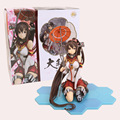 Anime Kantai Coleção Yamato 1/7 Scale Pintada Figura Collectible Modelo Toy 28 cm
