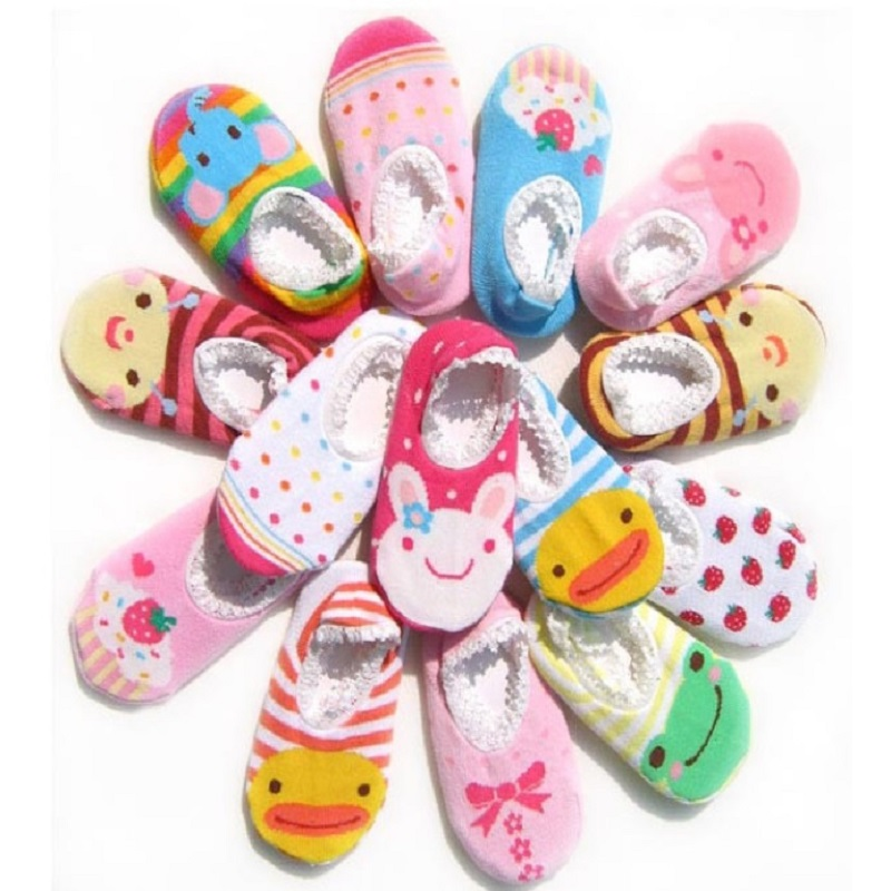non-slip Newborn socks Boys girls socks room ankle Knee High Baby sock knot Children pantufa Infant Short Sock Child Ankle