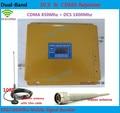 Последним DCS CDMA ЖК усилитель Сигнала! DCS 1800 CDMA 850 Мобильный Телефон Booster Усилитель, сотовый Телефон GSM Репитер + антенна 1 компл.